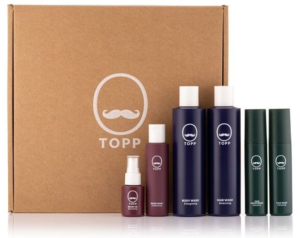 TOPP Face, Body, Hair, Shave and Beard Products for Men Review