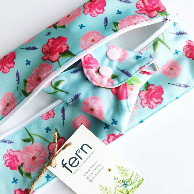 Fern Cloth Sanitary Pads Review - Fern CSP Review + Discount Code A Mum Reviews