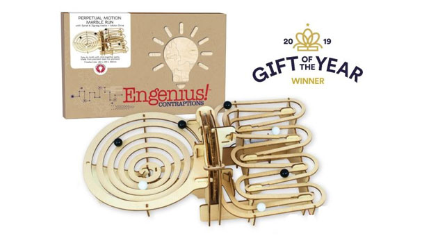 Engenius Contraptions Perpetual Marble Run - Gift of The Year Winner A Mum Reviews