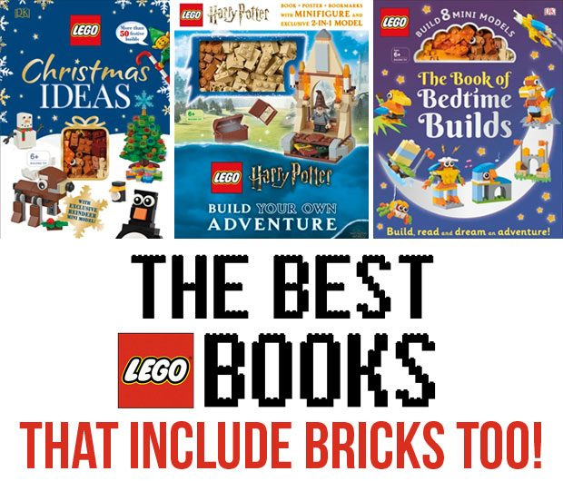 The Best Lego Books that Include Bricks Too! A Mum Reviews
