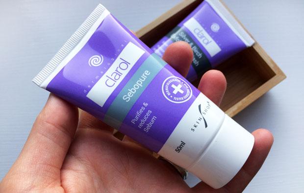The Clarol Range from SkinShop - Exfoliating Wash & Sebopure A Mum Reviews