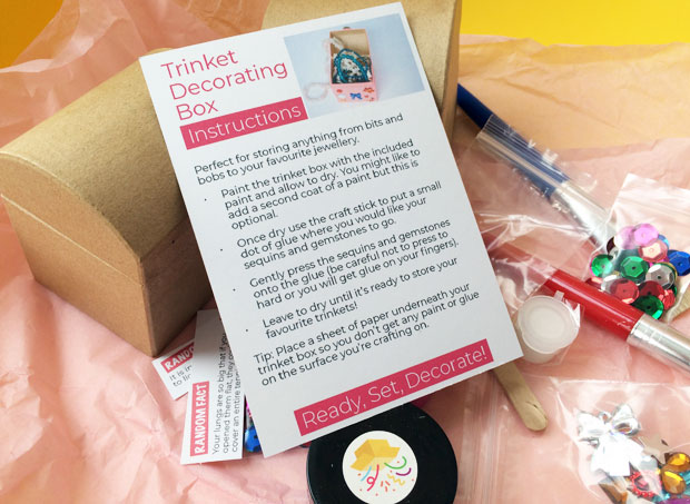 Crafty Party Box Review A Mum Reviews