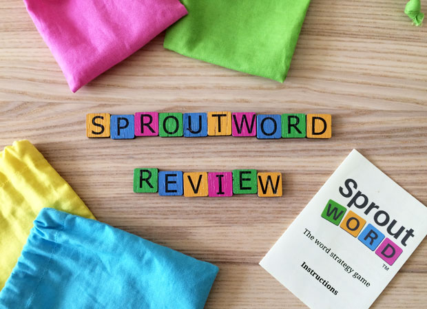 Sproutword The Word Strategy Game | Review & Giveaway A Mum Reviews