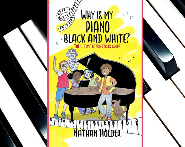Book Giveaway: Why Is My Piano Black And White? by Nathan Holder A Mum Reviews