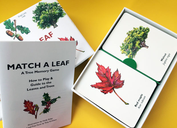 LKP Games: Make Your Own Mondrian & Match a Leaf A Mum Reviews