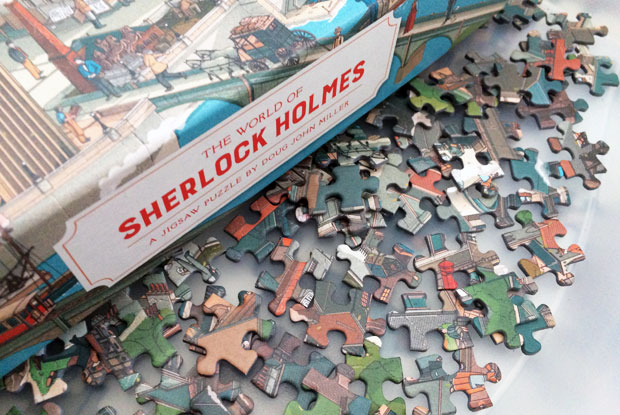 The World of Sherlock Holmes 1000-piece Jigsaw Puzzle from LKP A Mum Reviews