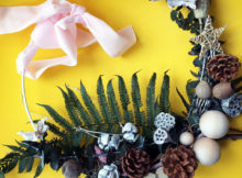 Advent Botanical Wreath Making Kit from Enchanted Floristry Review A Mum Reviews (3)