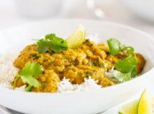 Vegan Red Lentil Coconut Curry Recipe
