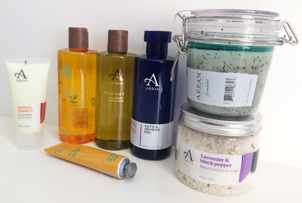 ARRAN Sense of Scotland Bath & Skincare Products Review ...