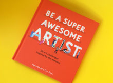 Be a Super Awesome Artist Book Review