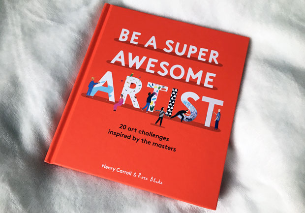 Be a Super Awesome Artist Blog Tour & Giveaway
