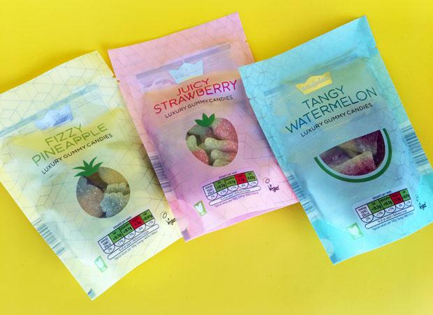 Vegan Luxury Sweets - Vegan Sweets Pineapple Strawberry Watermelon
