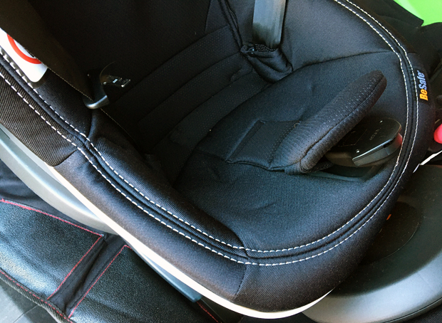 BeSafe's New Car Seat with Active Retract Harness