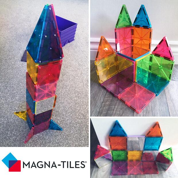 Magna-tiles Builds