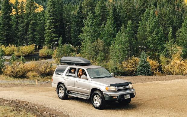 Family Roadtrip Car