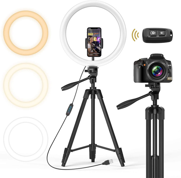 TONOR 12 inch Ring Light Tripod for Smartphones Review