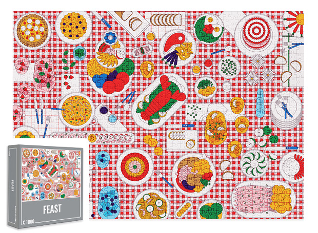 Feast Jigsaw Puzzle from Cloudberries