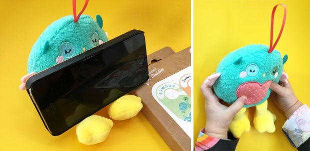 Olive The Owl 2-in-one Plush Holder and Screen Wiper