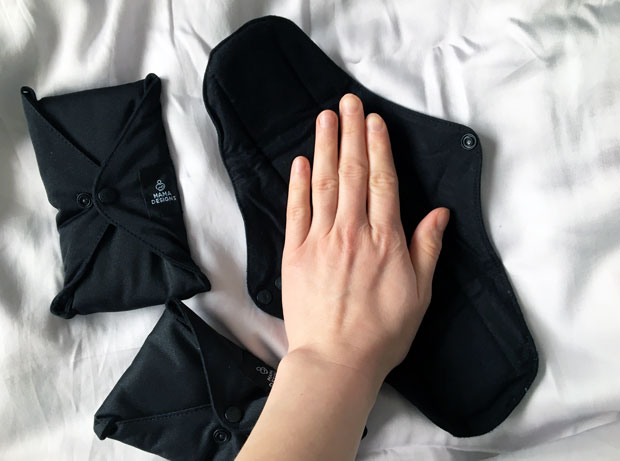 Mama Designs Cloth Sanitary Pads Review - Mama Designs CSP