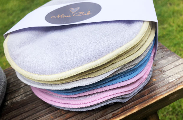 Round Reusable Baby Wipes