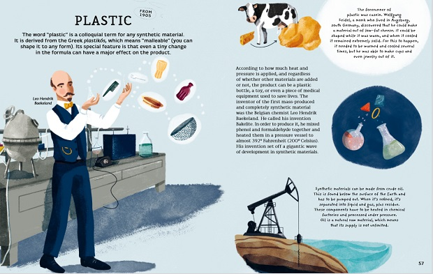 Who invented plastic