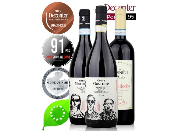 Join a Zoom Wine Tasting Session Sampling Award-winning Valpolicella and Amarone