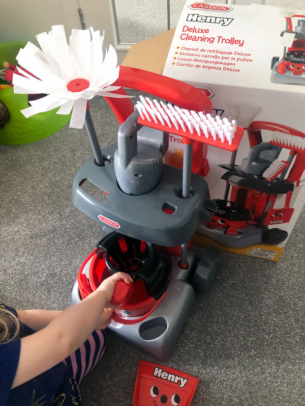 Henry Deluxe Cleaning Trolley Review A Mum Reviews