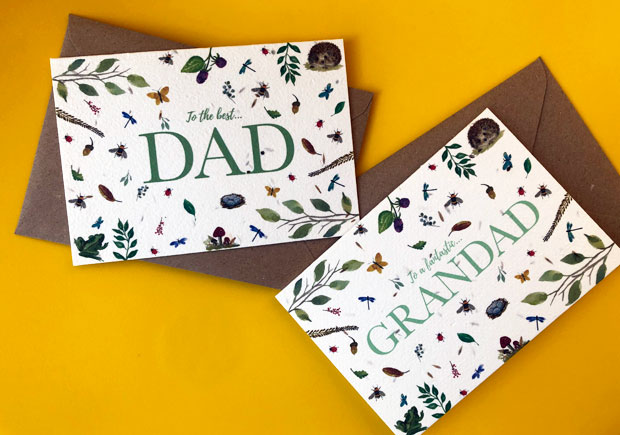 Plantable Father's Day Cards