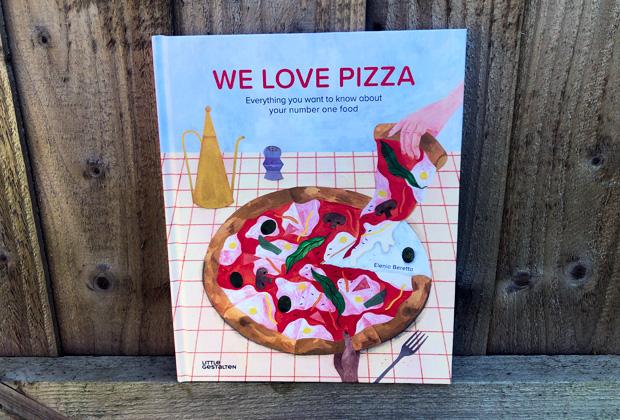We Love Pizza Book