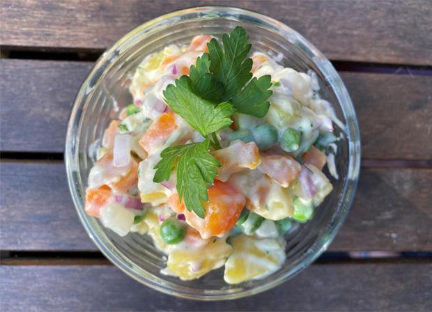 Vegan Potato Salad Classic Picnic Recipes Made Vegan - Vegan Picnic Food Ideas