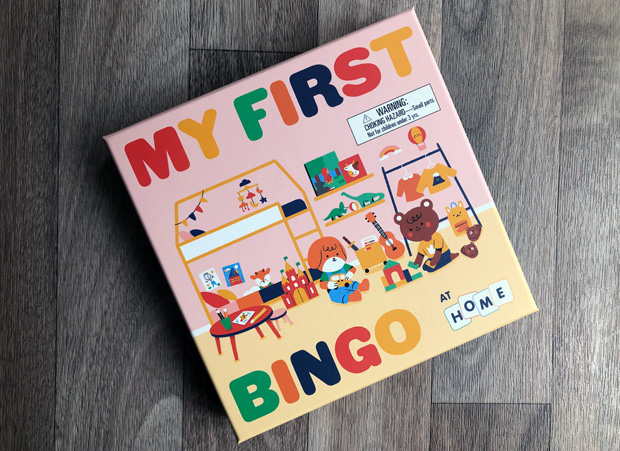 My First Bingo: At Home | Game from Laurence King Publishing