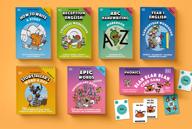 Back to School with Mrs Wordsmith Books from DK Books