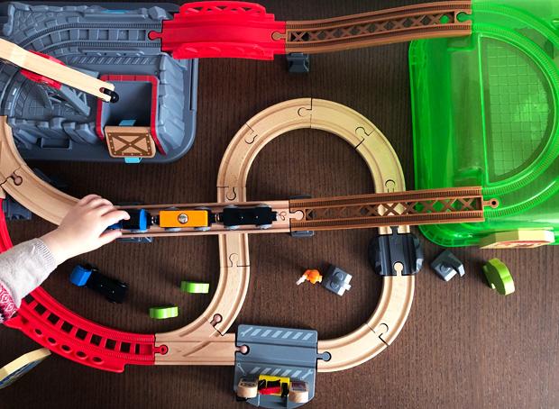 Hape Railway Bucket Builder Set Review A Mum Reviews