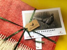 Lazy Pheasant Luxury Merino Wool Throw | A Lovely Gift Idea!